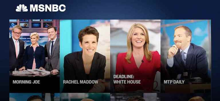 MSNBC Live Streaming