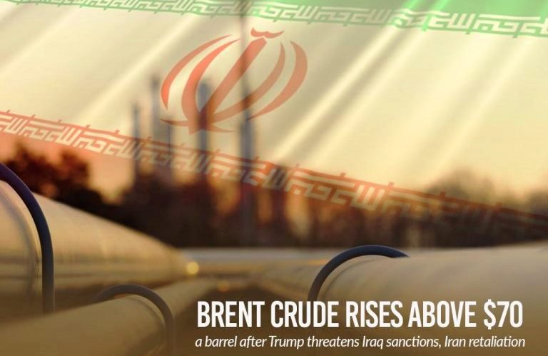 Oil prices rise after U.S. threaten sanctions on Iraq