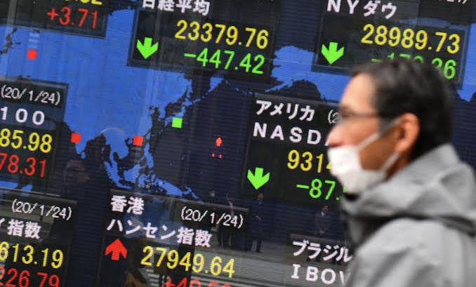 Drop in global stock markets amid coronations outbreak in China and across the world