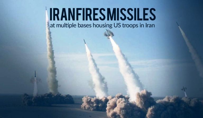 Missile attacks by Iran on bases in Iraq