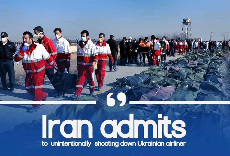 Confession by Iran of hitting down a Ukrainian airplane jet