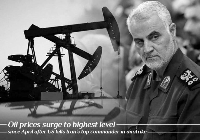 Surge in oil prices