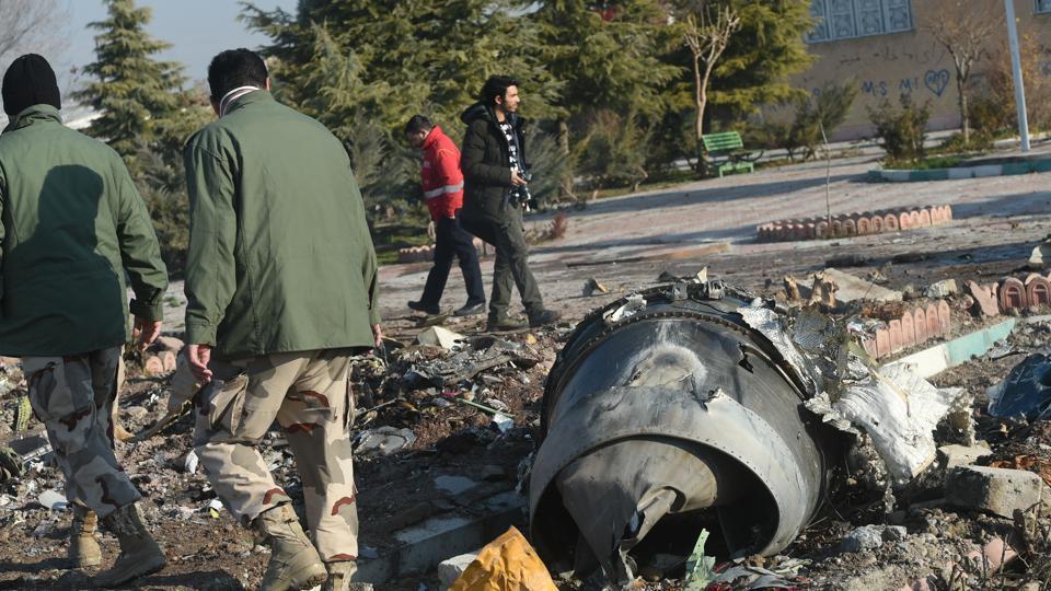Boeing 737 wreckage