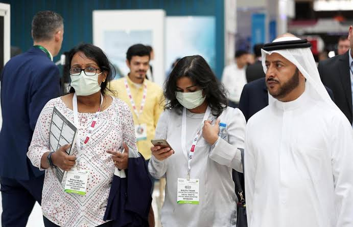first cases of Wuhan virus in Middle East