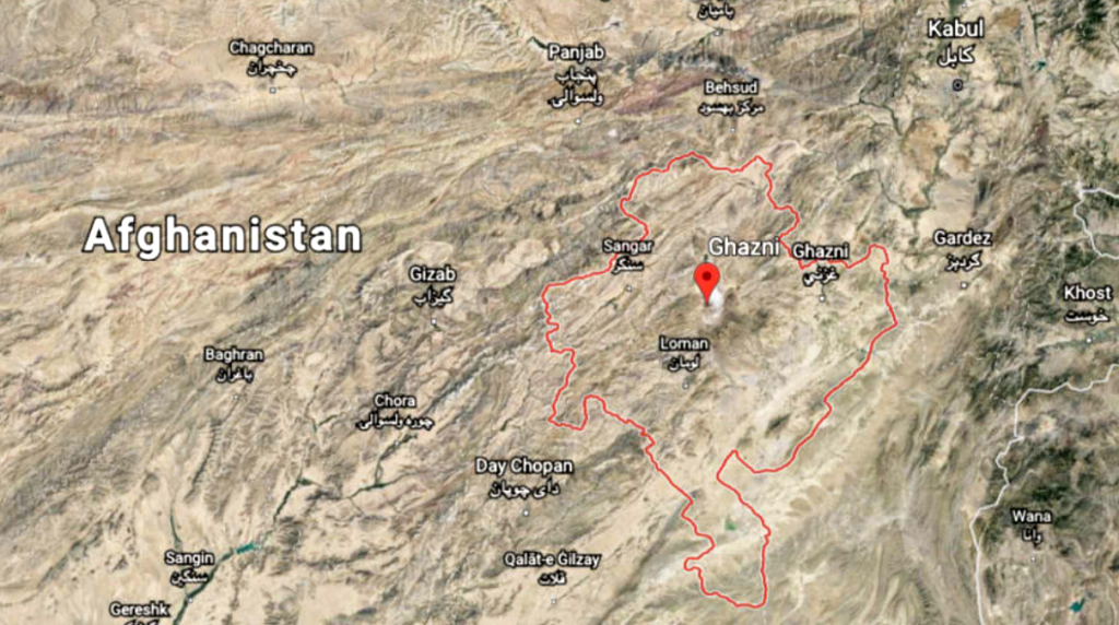 US aircraft crashes in Afghanistan central Ghazni province