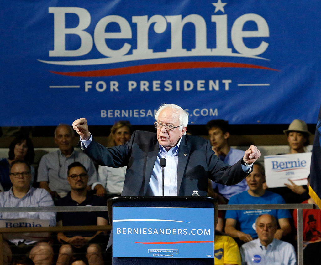 capitalism over socialism reflected by Bernie Sanders rise