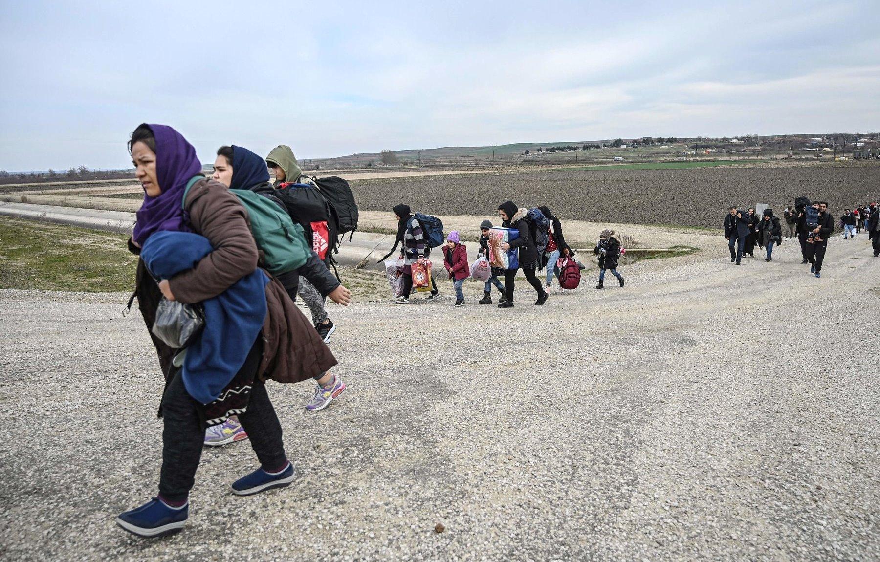 coronavirus vs Syrian refugee crisis