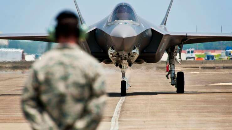 Elon Musk said that F35 fighter jet should have a competitor